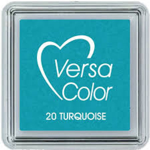 versacolor mini ink pad 20 turquoise
