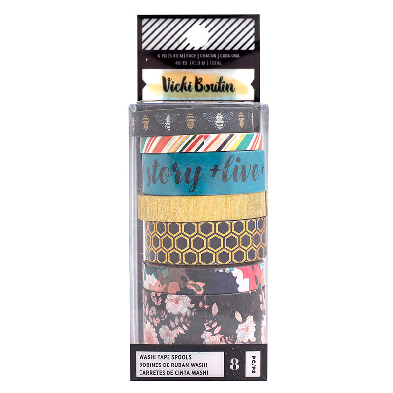 Vicki Boutin - Washi Tape Set - Wildflower Honey