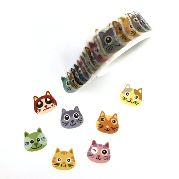Kitty Cat Washi Stickers