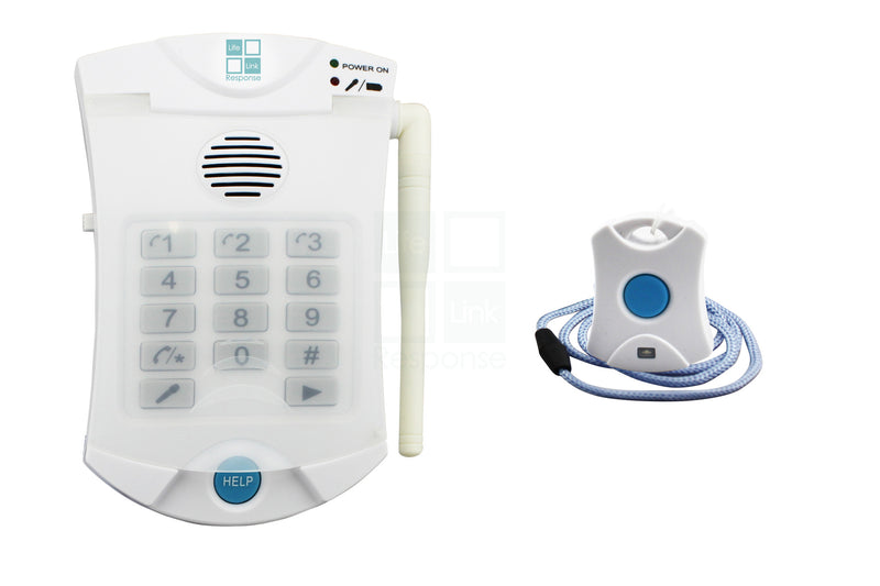 No Monthly Fee Medical Alert System LLR-120