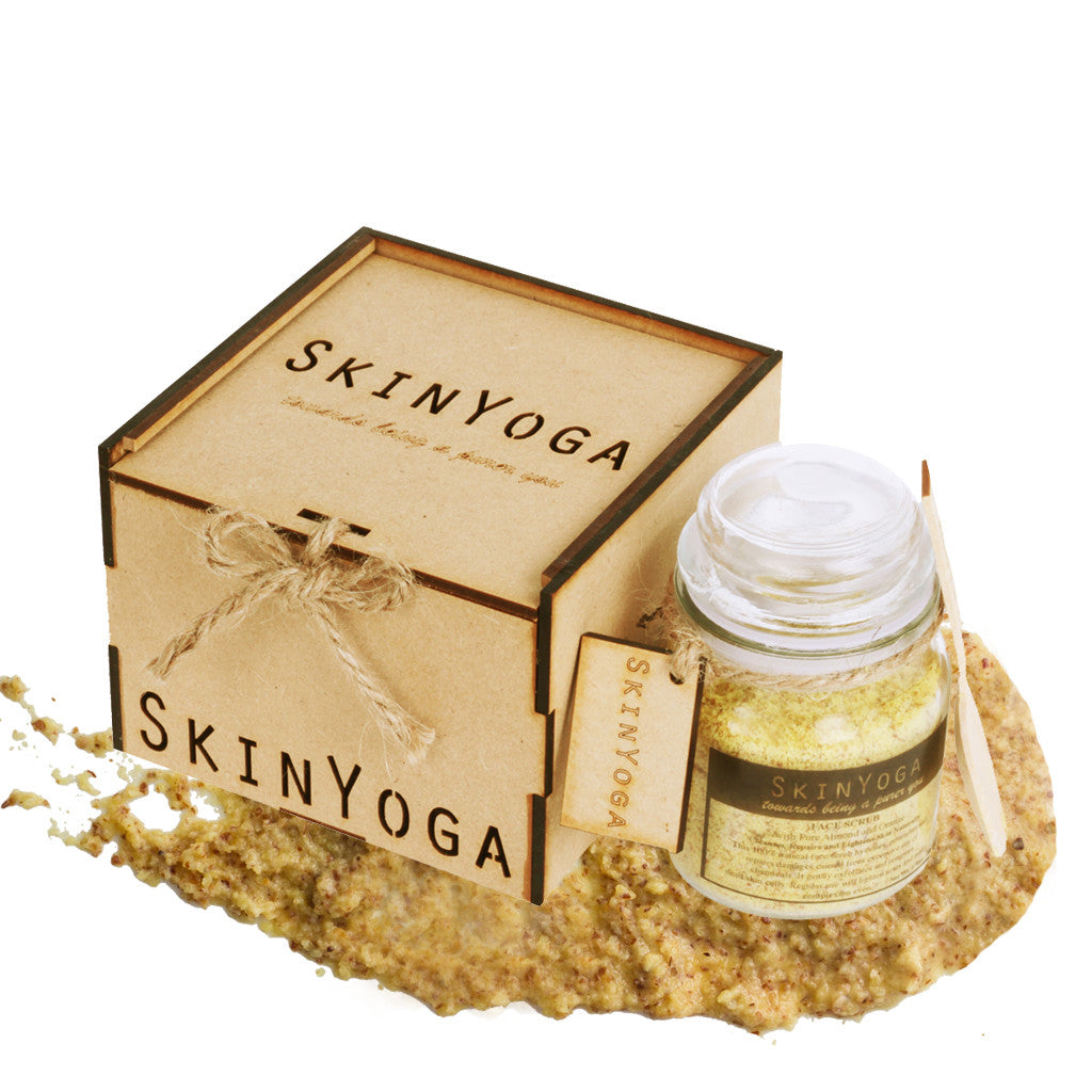 SkinYoga Almond Orange Face Scrub 50g