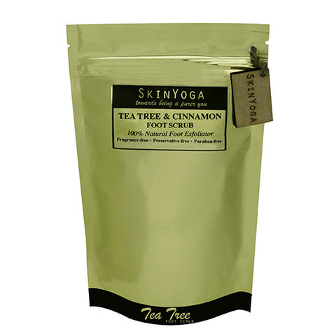 SkinYoga Tea Tree Cinnamon Foot Scrub 200g
