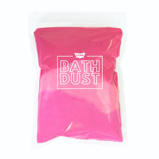 La Fraise Bath Bomb Dust Powder for Bubbles & Fizz