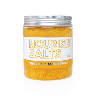Nourish Bath Salts Epsom Salt Bath Soak