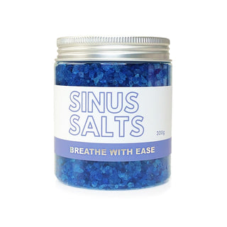 Sinus Bath Salts Epsom Salt Bath Soak