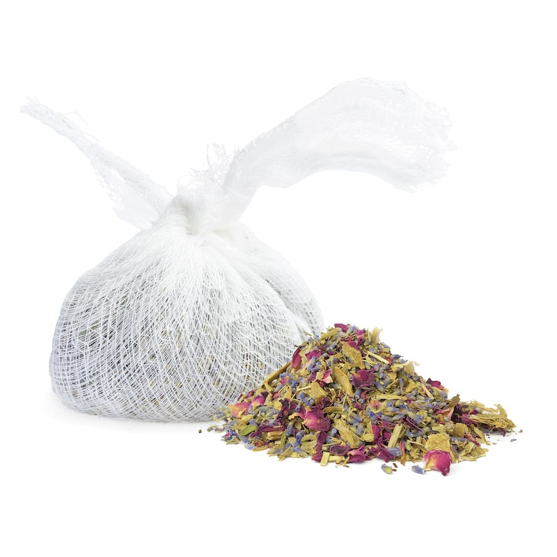Sleepy Bath Tea Natural Herbal Bath Soak Salts Bath Box