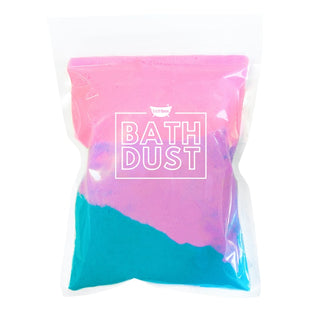 Sweet Tooth Bath Bomb Dust Powder for Bubbles & Fizz