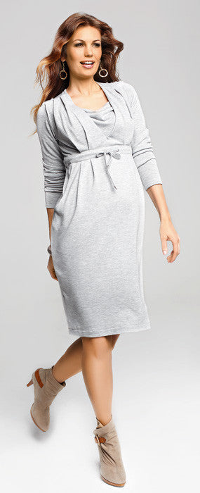 baby shower dress - Belluna jersey dress