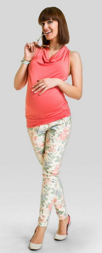 Apricot maternity top