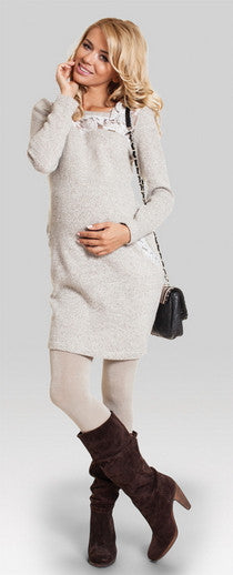 maternity jumper - Coffee Toffee
