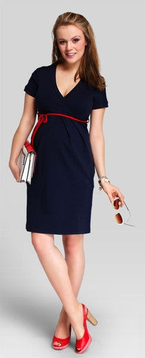 buy maternity dress Australia - Comfy Navy