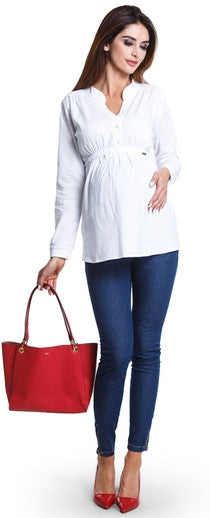 Delicia White Maternity Clothes Online