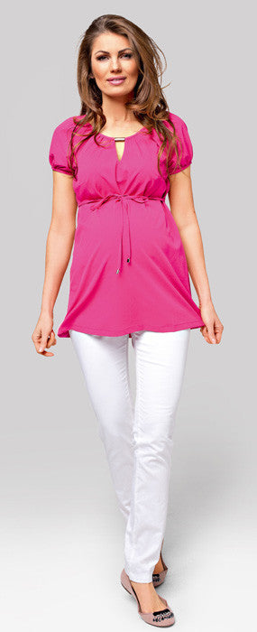 Prima Berry Maternity Top