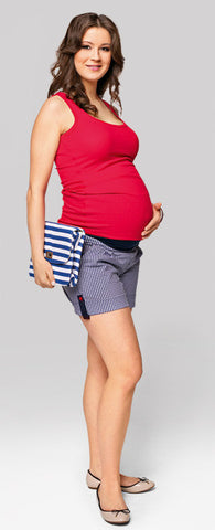 Resort maternity shorts online
