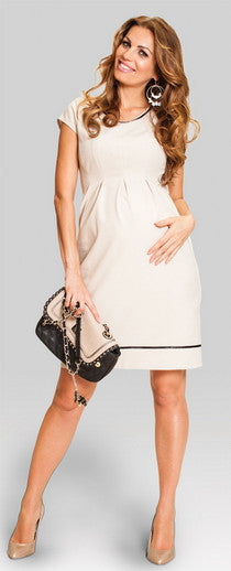 maternity dress Australia - Secret Beige
