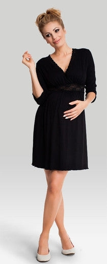 Love Me Black Maternity Sleepwear