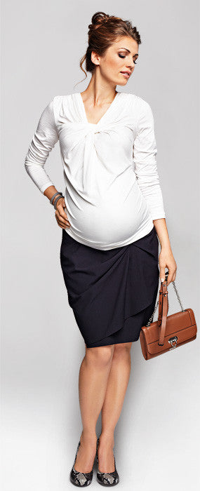 Twisty Maternity work clothes