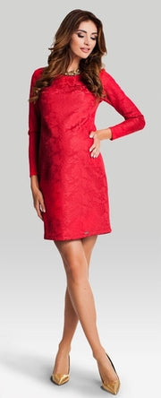 maternity evening dresses - valenta red dress