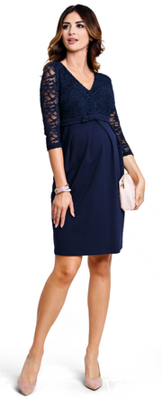 Vogue Navy Dress