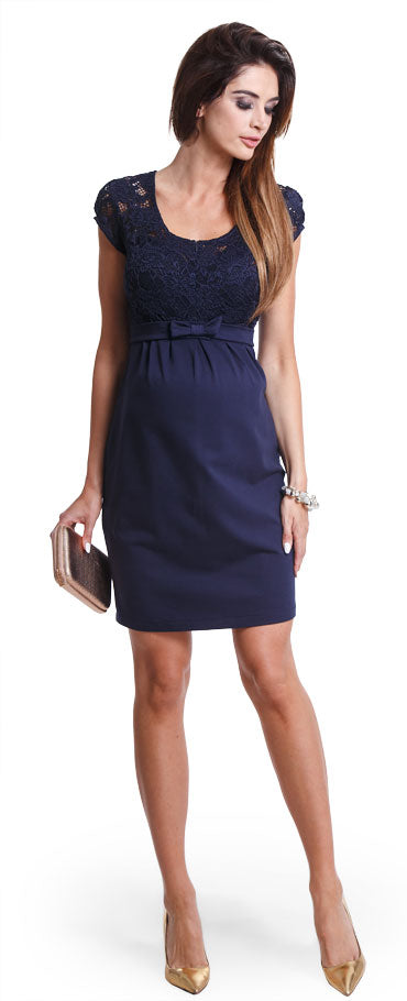 Magic Navy maternity dress