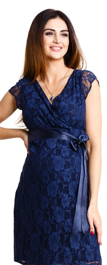 Lovely Navy Dress