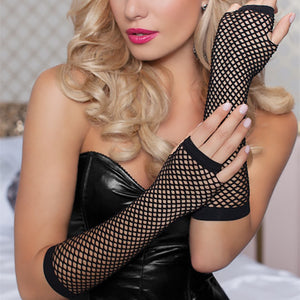 Fishnet Gloves - CHOKE ME HARDER