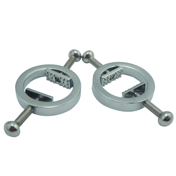 Toothed Nipple Clamps