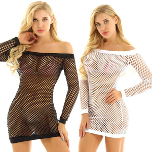 Fishnet Dress - CHOKE ME HARDER