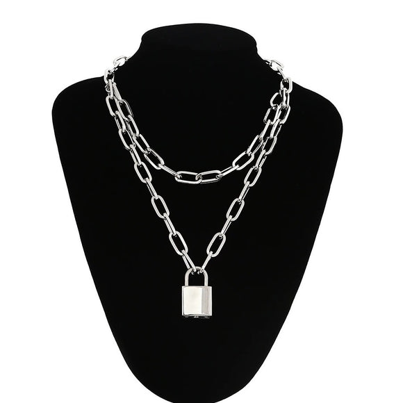 Padlock Chain (Double Chain Style)