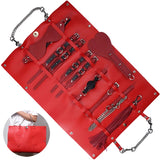 Travel Restraint Set (Red) - CHOKE ME HARDER