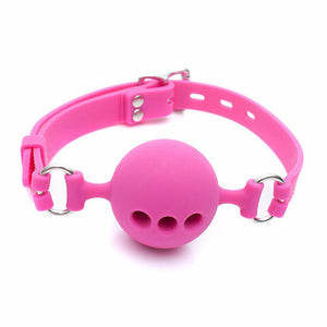 Breathable Ball Gag - CHOKE ME HARDER