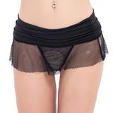 Mesh Mini Skirt - CHOKE ME HARDER
