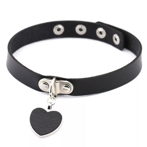 Heart Drop Choker - CHOKE ME HARDER