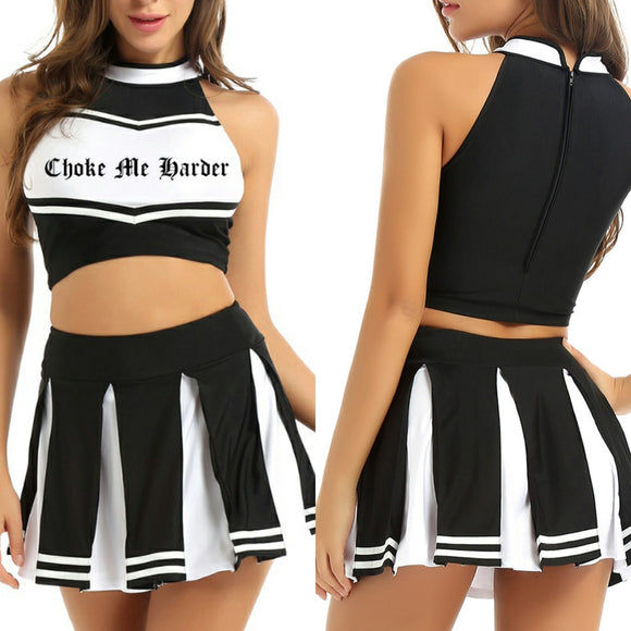 Choke Me Harder Cheer Outfit