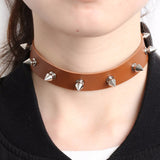 Stud Choker (5 Colors) - CHOKE ME HARDER