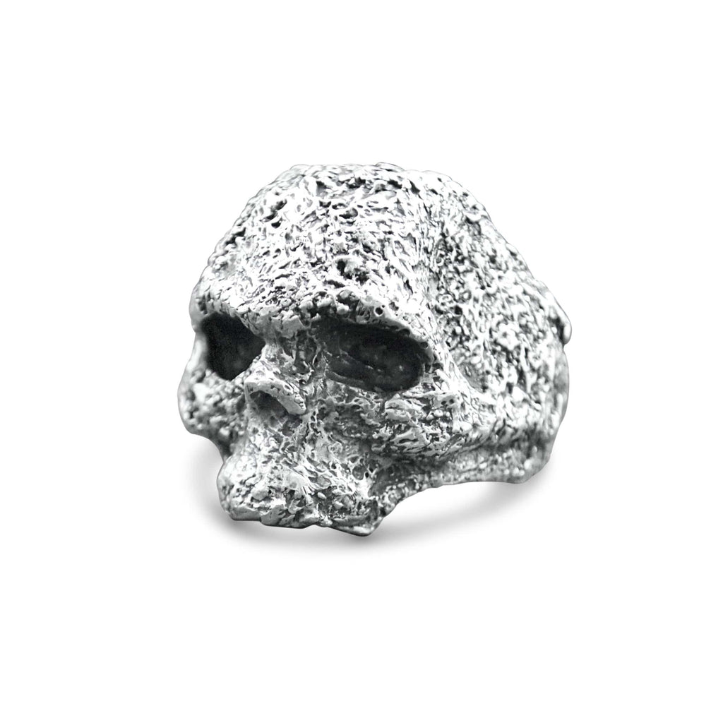 Skull ring Band oxid big