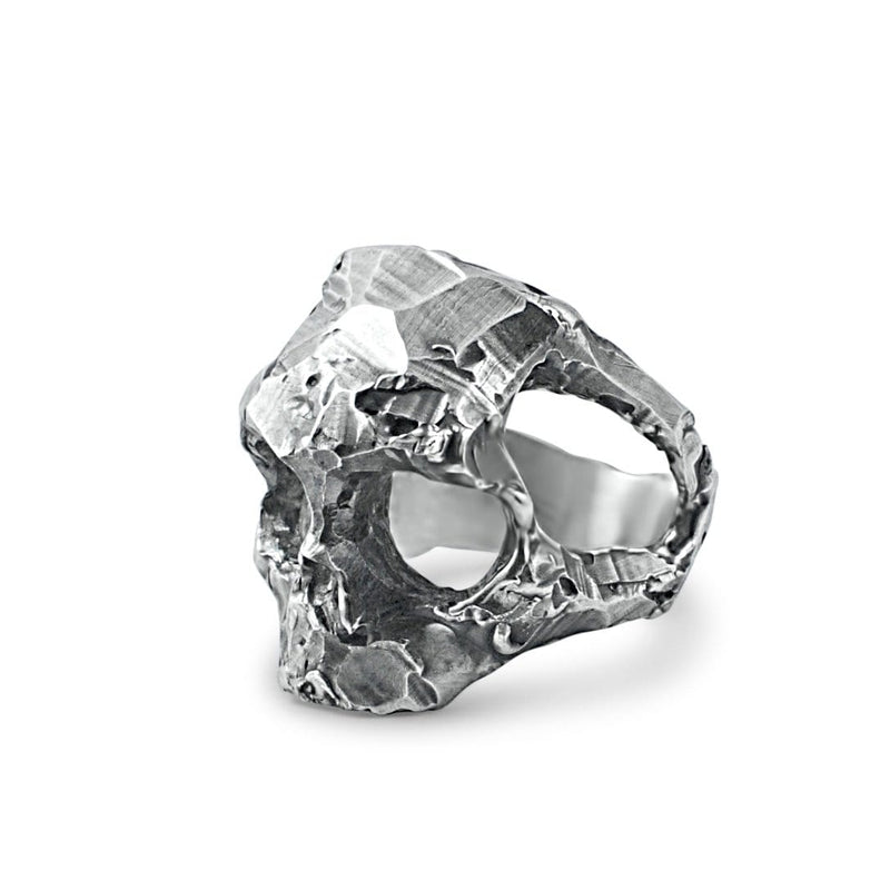 Skull ring Band cut structure