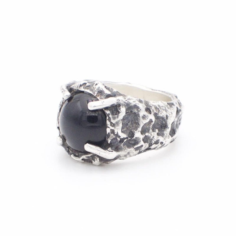 Men´s ring  black Onyx stone