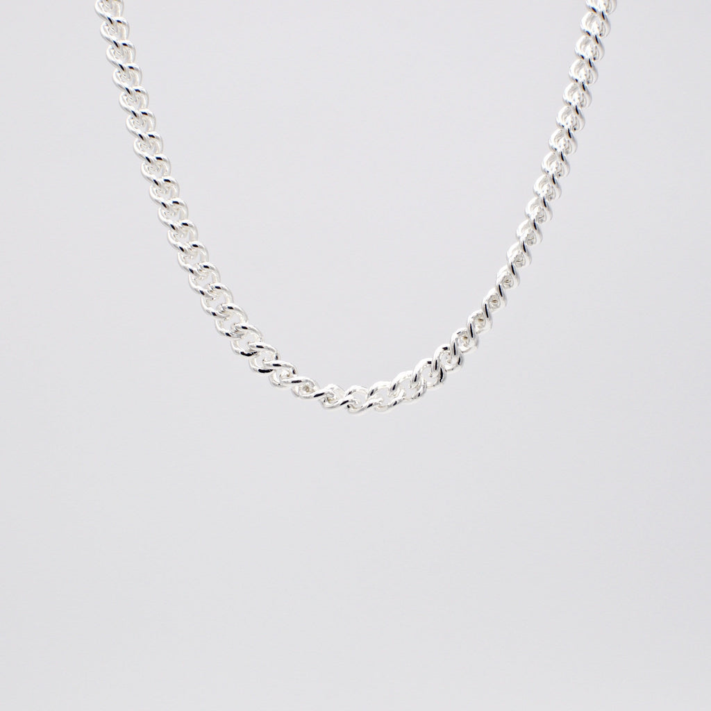 Men´s necklace curb chain