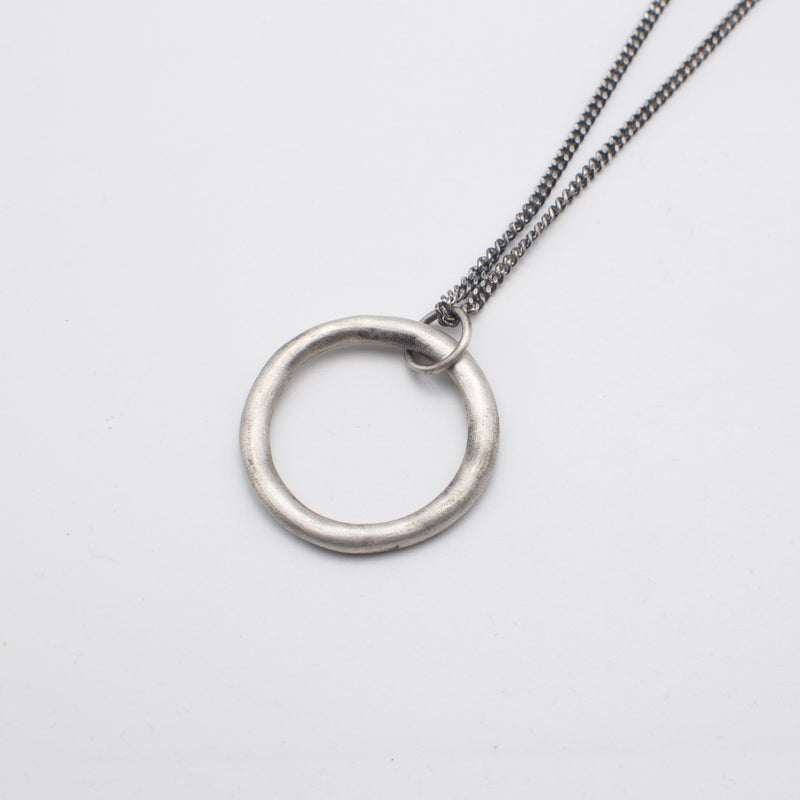 Men's necklace in solid sterling silver
