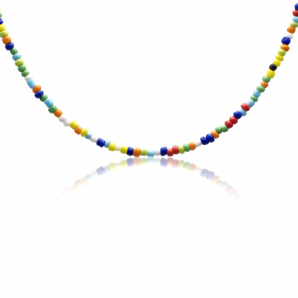 Men´s necklace color beads