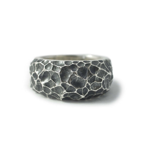 Moon band ring