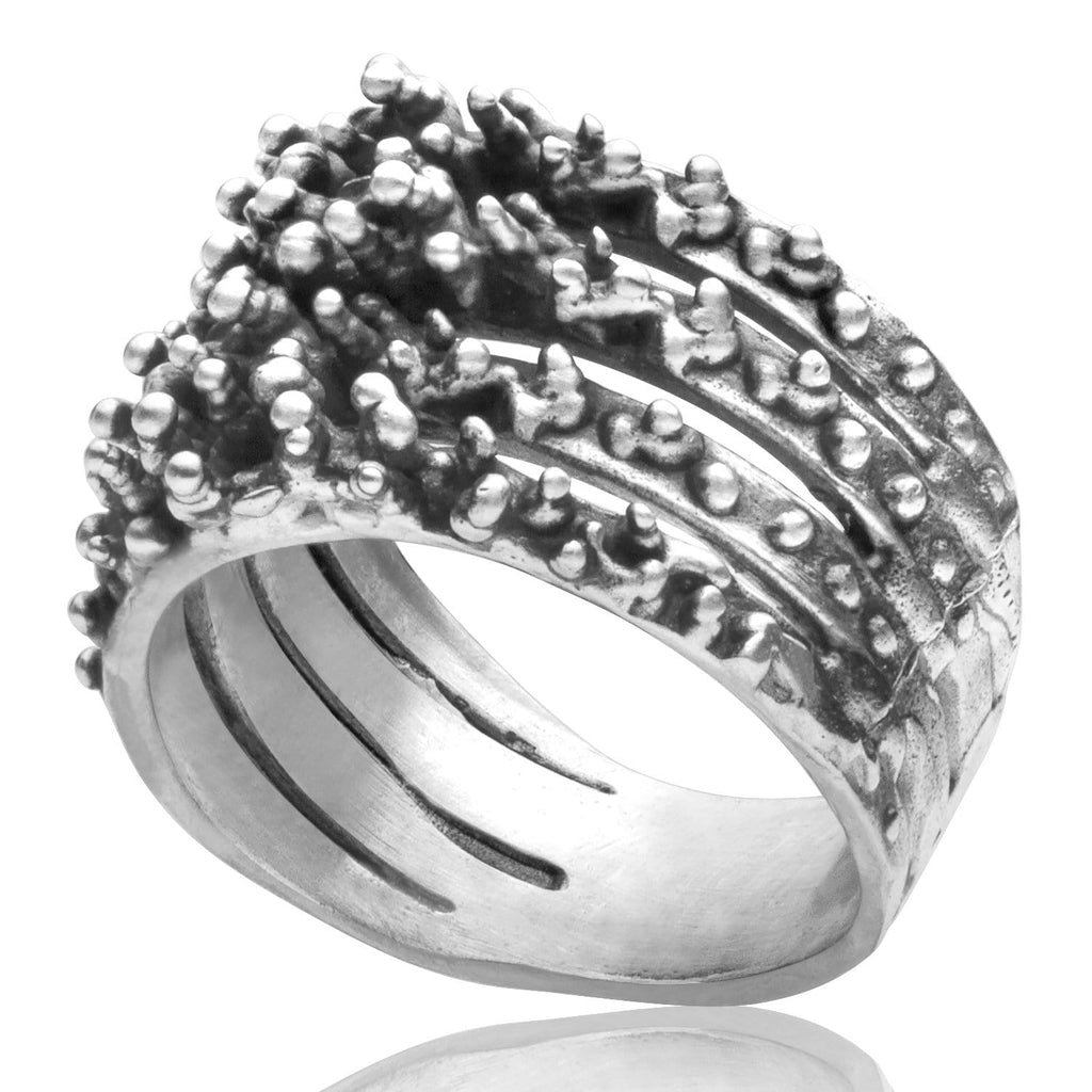 Men's ring Band abyss
