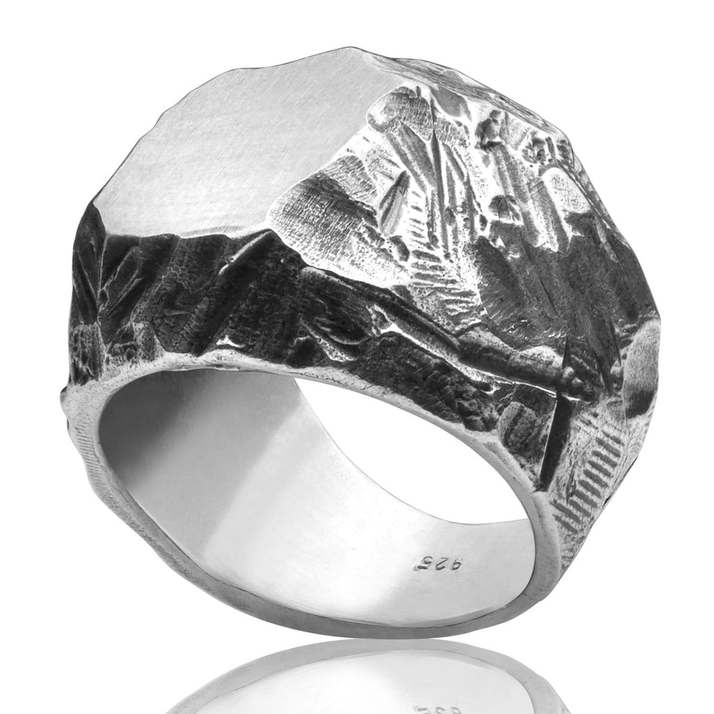 Men's ring Signet classic BRJ