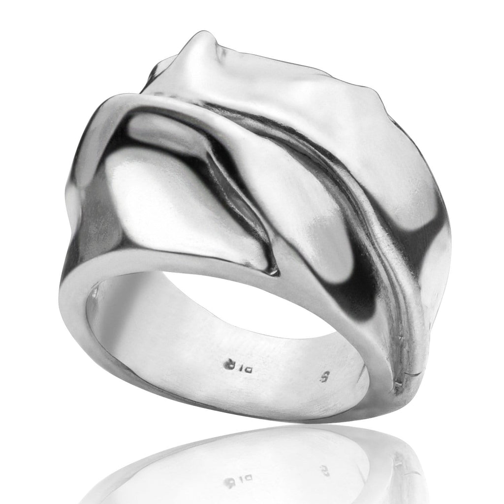 Men's ring Band silk