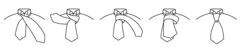 How To Tie A Scrunch Cravat Quick Start Guide