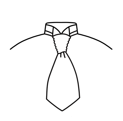 PickaPocket Guide On How To Tie A Scrunch Cravat Stage 5