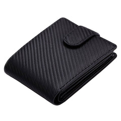 PickaPocket Men's Accessories Black Carbon Fiber Wallet