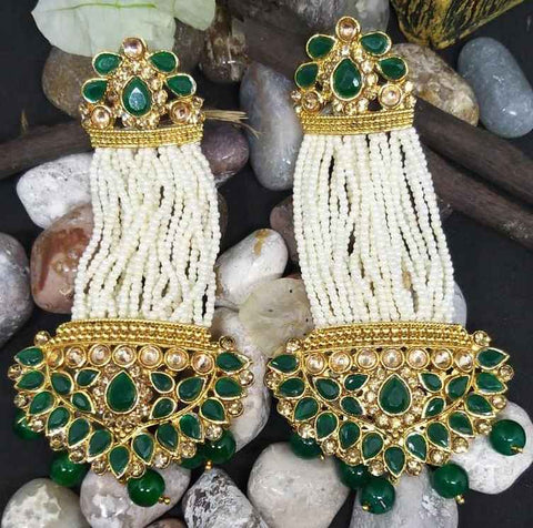 Boucles bollywood Vert Sripriya - Narkis Fashion