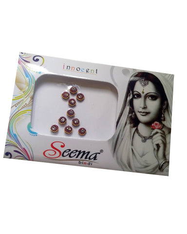 Bindi Bollywood Strass Bordeaux - 7 modèles - Narkis Fashion